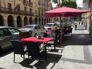Terraza Restaurante Leonardo