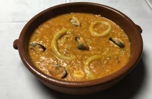 Menú para 2 con arroz marinero caldoso
