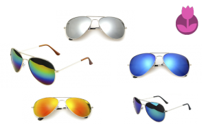 Pack de 5 Gafas Sol+ Funda Regalo